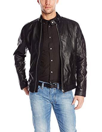 Diesel Men's L-Monike Moto Jacket