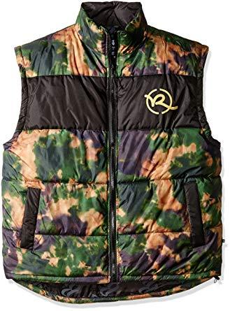 Rocawear Men's Big and Tall Battleground Vest