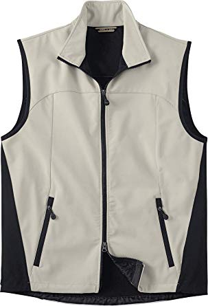North End 88127 Men's Three-Layer Light Bonded Performance Soft Shell Vest