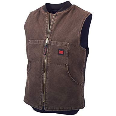 Tough Duck Men's Quilt Lined Vest
