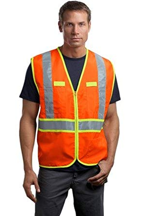 CornerStone- ANSI 107 Class 2 Dual-Color Safety Vest. CSV407