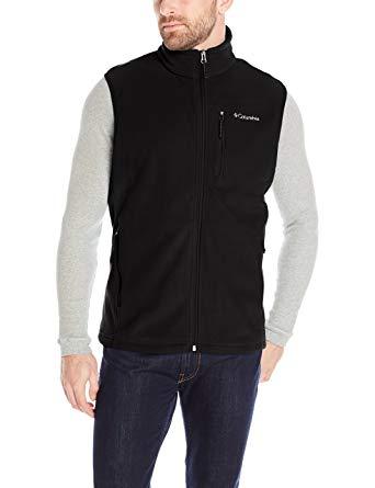 Columbia Men's Cascades Explorer Full-Zip Midweight Fleece Vest