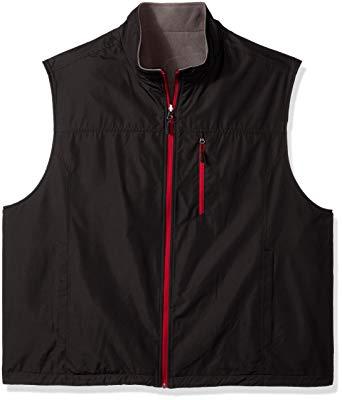 IZOD Men's Big and Tall Performance Reversible Vest